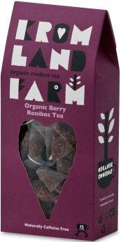Kromland Farm Organic Biodegradable Rooibos Chai Teapees 30g (15's) x4