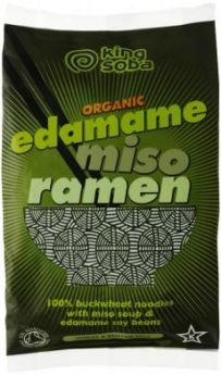 King Soba Organic Edame Miso Ramen 80g x10