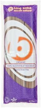 King Soba 100% Buckwheat Noodles 250g x12