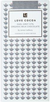 Love Cocoa Organic 37% Honeycomb and Honey Milk Chocolate Bar 80g x12