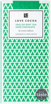 Love Cocoa Organic 37% Earl Grey Milk Chocolate Bar 80g x12