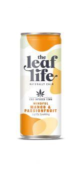 Leaf Life Mango & Passionfuit CBD Infused Drink