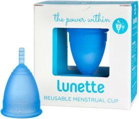 Lunette Blue (Model 1 - Easy Flow) Reusable Menstrual Cup x1