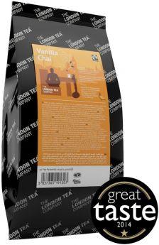 London Tea Company Fair Trade Vanilla Chai Pyramid Tea Bags 30g (15s) x4