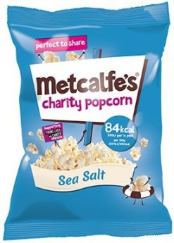 Metcalfe's Skinny Sea Salt Popcorn 20g x24