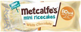 Metcalfe's Skinny Dark Chocolate Coated Rice Cakes 34g x16
