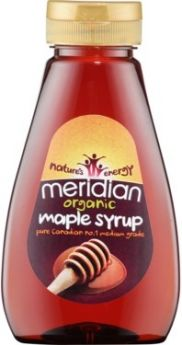 Meridian Organic Squeezy Agave Syrup - Blue Grade 250g x6