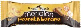 Meridian Peanut and Banana Nut Bar 40g x18