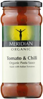 Meridian Organic Free From Tomato and Basil Pasta Sauce 350g x6