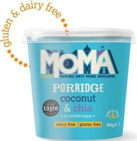 Moma Porridge Pot - Plain (Original) 70g x12