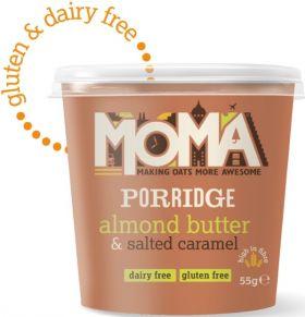 Moma Apple and Cinnamon Instant Porridge Pots 50g x12