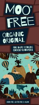 Moo Free Organic Marvellously Moreish Original Rice Milk Cocoa Bar 80g x12