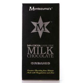 Montezuma Organic 51% Milk Chocolate 90g x12