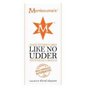 Montezuma Orangic Dairy-Free Milk Chocolate Orange 90g x12
