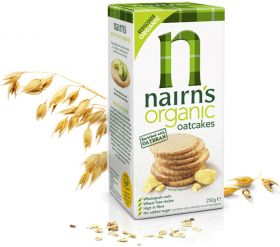Nairns Oatcakes - Cheese 200g x12