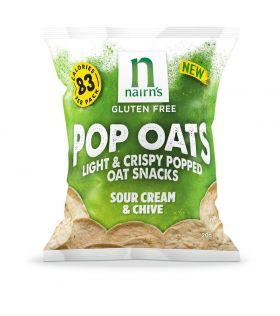 Nairn?? Sour Cream & Chive Pop Oats 14 x 20g