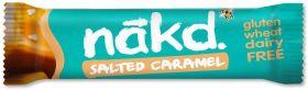 Promo Nakd Salted Caramel Bar 35g x18