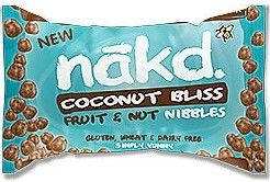 Promo Nakd Coconut Bliss Fruit & Nut Nibbles 40g x18