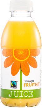 Fruit Hit Fair Trade Orange Juice (12x500ml)