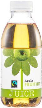 Fruit Hit Fair Trade Apple Juice (12x500ml)