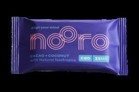 Nooro Coconut & Cacao Vegan Oat bar CBD 25g x10