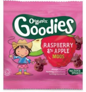 Organix Goodies Strawberry & Apple Gummies 12g x20