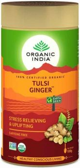 Organic India Ginger Tulsi Teabags (25's) x10