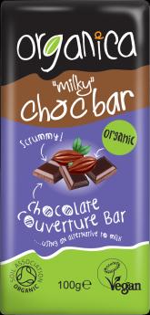 Organica Non Dairy Milk Chocolate 100g x12