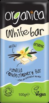 Organica Vegan Diets White Chocolate 100g x12