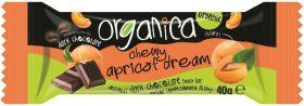 Organica Organic Dark Creamy Marzipan Dream Chocolate Snack Bars 40g x24