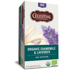 Celestial Seasonings Tea Organic Chamomile & Lavender 20gx6