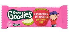 Organix Goodies Apple & Raspberry Oaty Bar 30g x16