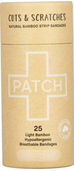 Patch Natural Adhesive Strips - 25 Tube
