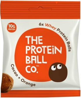 Protein Ball Co. Cacao and Orange (22% Whey Protein) 45g x10