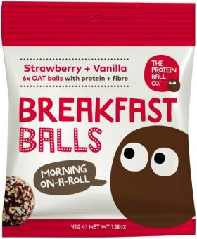 Protein Ball Co. Apple and Blueberry Breakfast Balls (Protein and Fibre) 45g x10