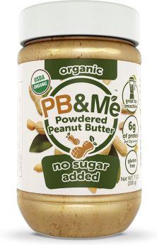 PB&Me Organic NO Added Sugar Powdered Peanut Butter 200gx6