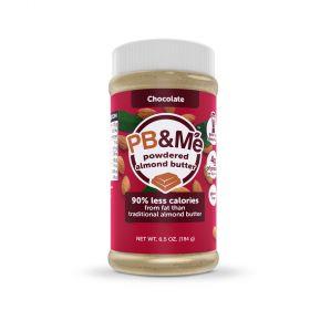 PB&Me Chocolate Almond Powdered Butter 184gx6