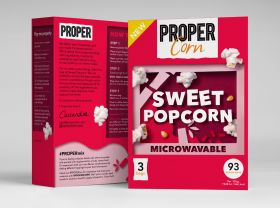Propercorn Microwave Sweet Popcorn