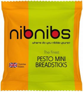 Nib Nibs Pesto Mini Breadsticks 25G