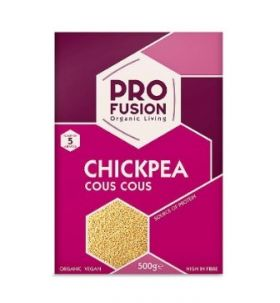 Profusion Organic Chick Pea Cous Cous 500gx12