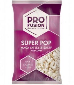 Profusion Sweet & Salty Maca Popcorn 20gx12