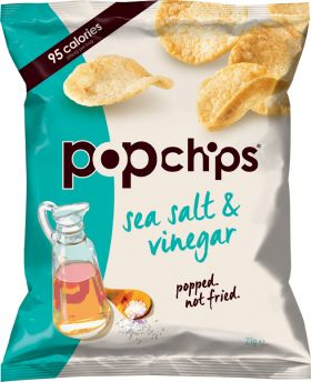 Popchips sea salt & black pepper 23gx24