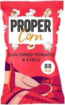 Propercorn Sun Dried Tomato and Chilli Popcorn 20g x24