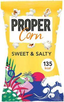 Propercorn Sweet and Salty Popcorn 30g x24