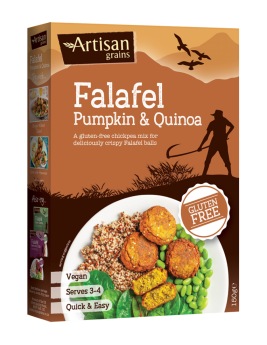 Quinoa & Pumpkin Falafel 150g