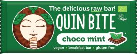 Quin Bite Organic Coco Choco (Coconut and Chocolate Chips) Raw Breakfast Bar 30g x12