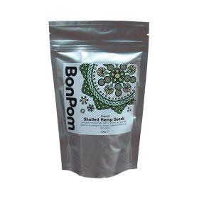 BonPom Raw Organic Shelled Hemp seeds 1 x200g