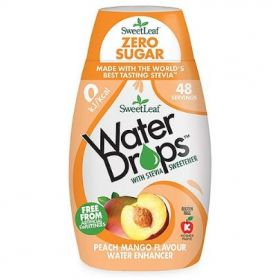 Sweetleaf Water Drops Peach & Mango 48ml x12