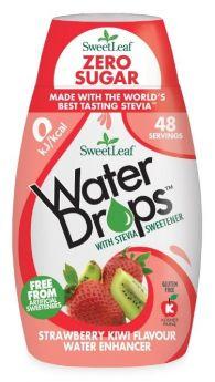 Sweetleaf Water Drops Strawberry & Kiwi 48ml x12