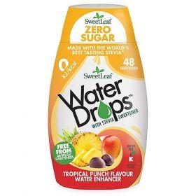 Sweetleaf Water Drops Tropical Punch 48ml x12